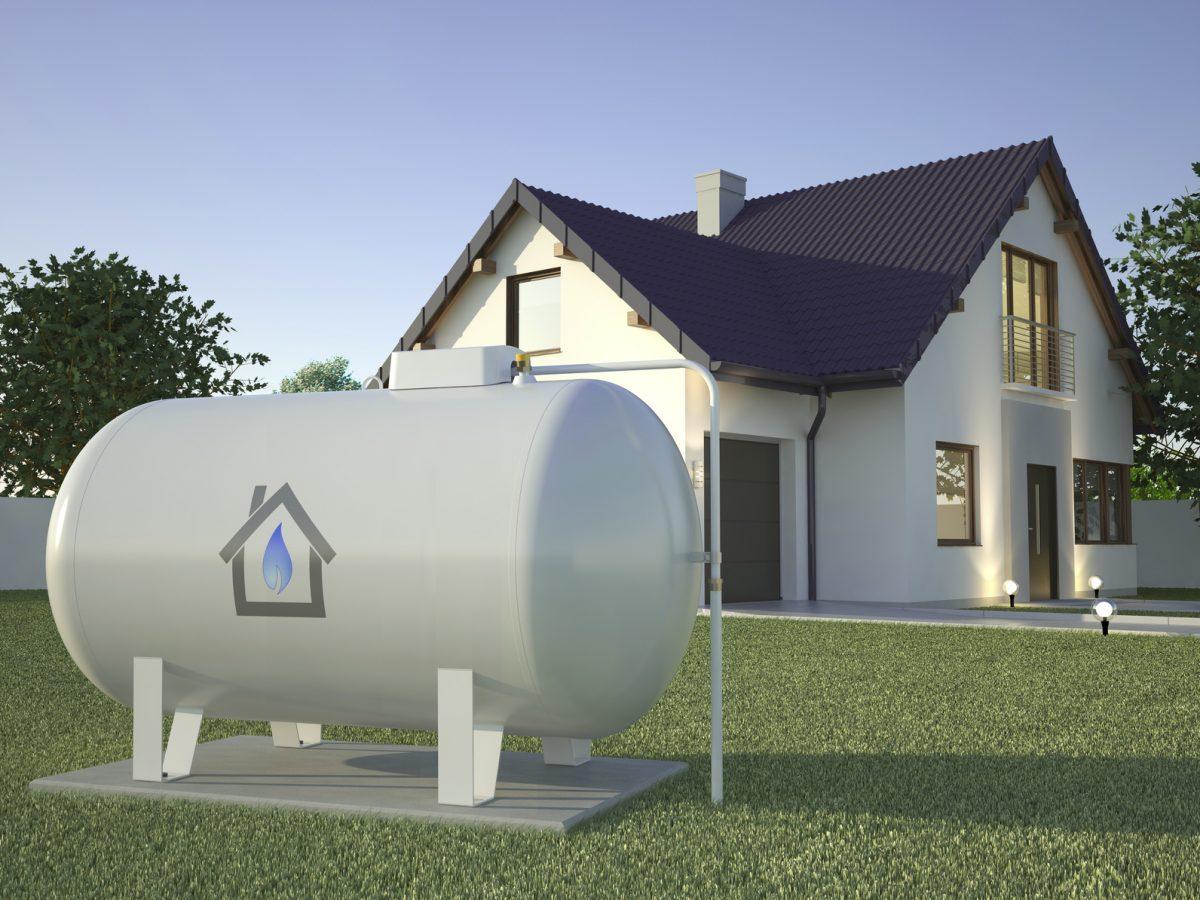 Ekologiczne ogrzewanie domu gazem z butli
