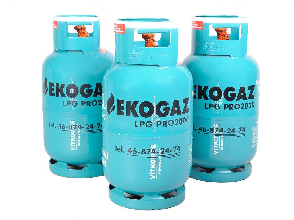 Gaz płynny propan butan w butlach - butle gazowe do ogrzewania